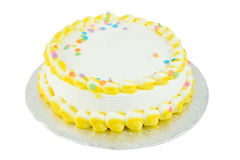Blank festive cake royalty free stock images