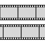 Blank film. 3d render of blank film Royalty Free Stock Image