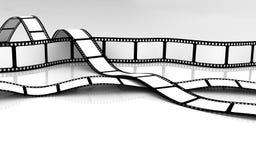 Blank Film Royalty Free Stock Photo