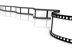 Blank film Stock Photos