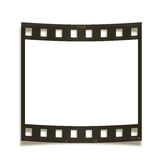Blank film frame. On white background Stock Image