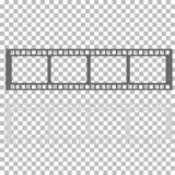 Blank film frame stock illustration. Image of frame film  vector Royalty Free Stock Photos