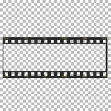 Blank film frame stock illustration. Image of frame film  vector Stock Images