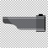 Blank film frame stock illustration. Image of frame film  vector Royalty Free Stock Photography
