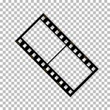 Blank film frame stock illustration. Image of frame film  vector Stock Image