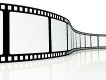 Blank film strip Royalty Free Stock Photo