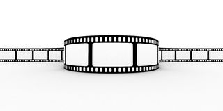 Blank film strip Stock Image