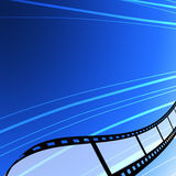 Blank film strip background Stock Images