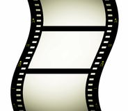 Blank film strip frame Royalty Free Stock Photography