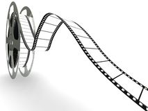 blank filmfilmrulle Arkivbild