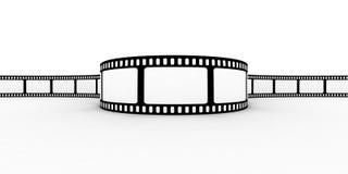blank filmremsa Fotografering för Bildbyråer