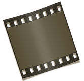 Blank Filmstrip Negative Photography. Photography - Blank Filmstrip Negative Isolated on White Background Royalty Free Stock Images