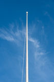 Blank flagstaff, blank flagpole Stock Photos