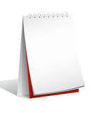 Blank Flip Chart. Stand  on white background Stock Images