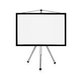 Blank flip chart Royalty Free Stock Photography