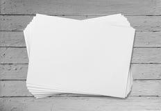Blank flyers Royalty Free Stock Photos