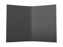 Blank Folder Spread. Clipping path included for easy and precise selection Stock Photography