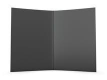 Blank Folder Spread Stock Photography
