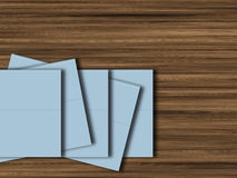Blank folders Stock Photos