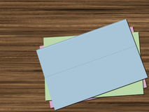 Blank folders Stock Images