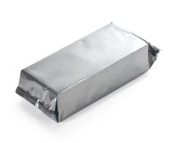 Blank  food packaging Royalty Free Stock Photo