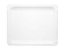 Blank food paper tray Stock Photography