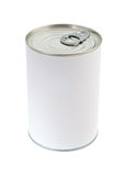 Blank Food Tin Can Royalty Free Stock Photos