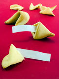 Blank fortune cookie messages 3 Stock Images