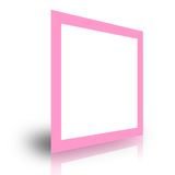 Blank foto frame template Stock Images