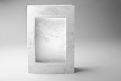 Blank frame card or photo frame Stock Photography