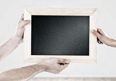 Blank frame Stock Photos