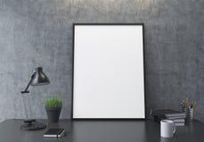 Blank frame closeup Stock Image