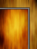 Blank frame on a colored background Royalty Free Stock Photography