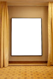 Blank frame in interior royalty free stock images