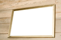 blank frame obsolete wood Стоковые Изображения
