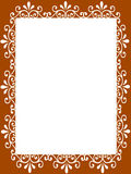 Blank  frame paper Stock Photography