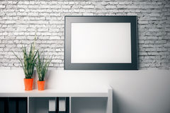 Blank frame Stock Images