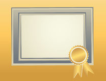 Blank Frame template Royalty Free Stock Photography