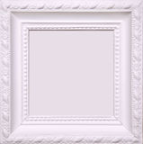 Blank frame on wall Royalty Free Stock Images