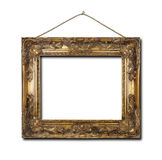 Blank frame on a white background Royalty Free Stock Images
