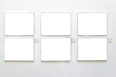 Blank frames Royalty Free Stock Photos