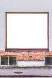 Blank front window. For your own images stock photo
