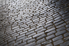 blank gammal trottoar Royaltyfri Bild