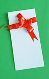 Blank gift Card Royalty Free Stock Image