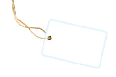 Blank Gift Label Stock Images