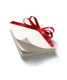 Blank gift tag Stock Images