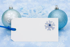 Blank Gift Tag Royalty Free Stock Photos