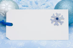 Blank Gift Tag Royalty Free Stock Images