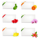 Blank Gift Tag. Vector Royalty Free Stock Images