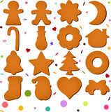 Blank Gingerbread Royalty Free Stock Photo